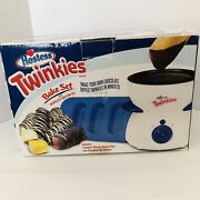 Hostess Twinkies Bake Set With Chocolate Melting Dipping Pot And Silicone Pan