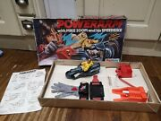Vintage Powerarm Bike With Mike Zoom By Palitoy Boxed Evel Knievel Motorbike Toy