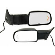 For Chevy Avalanche 1500/2500 Mirror 2003 04 05 2006 Lh And Rh Pair/set Black