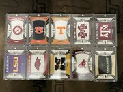 2014 Conference Greats School Pride Patch Sec Both Texas Aandm Qty-2 Cards