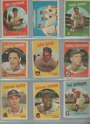 1959 Topps 520 Card Lot 1-572 Over 90 Of The Entire Set
