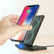 Wireless Charger Stand 10w Qi Micro Usb Double Coils For Iphone Samsung Nexus