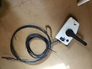 Omc Outboard Motor Control 12and039 Shift And Throttle Cables Power Cord 17and039 No Key