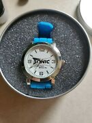 Pedre Collection Sonic Drive In Watch Blue