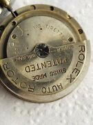 1930s Rolex Perpetual Movement Auto Rotor Dial And Hands Parts / Restore / Project