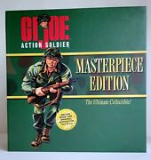 New Old Stock Vtg 1996 Hasbro Gi Joe Action Soldier Masterpiece Edition Us Army