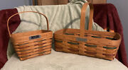 Longaberger Bee Baskets - 1991 And 1992