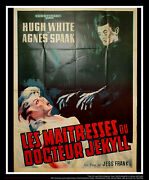 The Mistresses Of Dr. Jekyll 4x6 Ft French Grande Original Movie Poster 1964