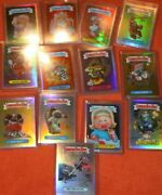 2013 Garbage Pail Kids Chrome 1 Refractor Lot 13 Cards Lost Gpk Nm/mt Os1