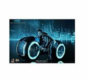 Hot Toys 1/6 Tron Legacy Sam Flynn With Light Cycle Mms142 Inspection Only
