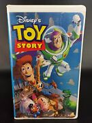 Walt Disney Home Video Toy Story Vhs, 2001, Clamshell 6703 Rare Collectible