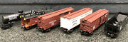 1990and039s Lionel And039oand039 Die-cast Tank/hopper/reefer/box Car Lot 6pcs