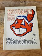 1959 And 1960 Cleveland Indians Official Sketchbook Yearbook Year Book