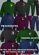 Units 1 To 3rd Us American Army Navy Air Force Marines Seals Tracksuit