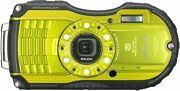 Secondhand Ricoh Wg-4 Yellow Waterproofing Camera Popularity Esso Beginne _37428