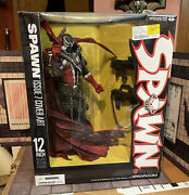 """Spawn 12"""" Deluxe Action Figure Statue Mcfarlane 2006 Issue 7 Cover Art Nib"""