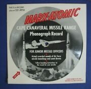 Marx-atomic Cape Canaveral Missile Range For Junior Officers Louis Marx Co 33rpm