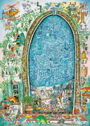 Heye Artist's Fantasy Painting 1500 Piece Adult Decompression Puzzles Toys New