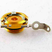 Motorcycle Machined Oil Filler Cap Fit Yamaha Fz600 Fz700 Fzr1000 Yzf R6 R1 Gold