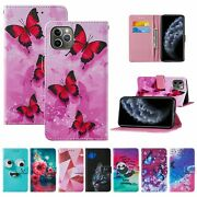For Iphone 11 12 Pro Max Xs Xr 8 7 Se 2 Magnetic Flip Wallet Leather Cover Case