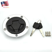 For Zx14r Zzr1400 Ninja 1000 Abs Z1000sx Z750r Versys Gas Cap Tank Fuel Cover Us