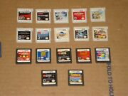 Lot Of 17 Nintendo Ds And 3ds Games Metal Gear Super Smash Bros. Sonic Star Wars