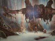 Thomas Kinkade Studio Star Wars Do. Or Do Not. There Is No Try 18 X 27 Canvas