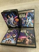 Star Wars Trilogy - Remastered And Original Theatrical Dvds 6-discs - Best Buy Tin