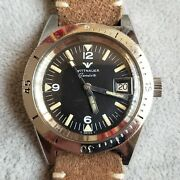 Wittnauer Skin Diver Watch Vintage Reference 4000