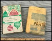 Vintage Mopar Parts Polishing Cloth 1960and039s Chrysler Plymouth Dodge Cuda Charger