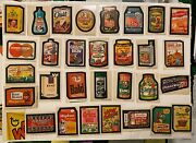 1973 Topps Wacky Packeges 4th Series Lot As Is