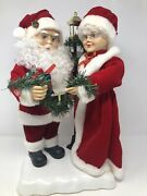 20andrdquo Santa And Mrs Claus Musical Christmas On Base