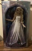 """Disney Limited Edition The Snow Queen Elsa Frozen 2 Doll 17"""""""