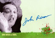 Night Of The Living Dead - Autograph A4 John Russo As Ghoul