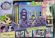 Littlest Pet Shop Blythe Bedroom Style Set W Doll And Penny Ling Panda Playset
