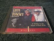 Leon Rausch - Tommy Allsup A Tribute To Music Of Bob Wills Pre Owned Rare Cd