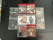 Playstation 3 Ps3 Lot Of 10 Games All Complete Gta5, Cod, Skyrim, Resident Evil