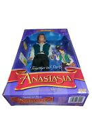 1997 Together In Paris Dimitri Anastasia Doll-galoob-mint Condition