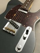 Fender Made In Japan Hybrid 60s Telecaster Charcoal Frost Metallic Ggebq
