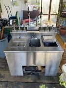 Vintage Everfrost Ice Cream And Soda Parlor-working Motor