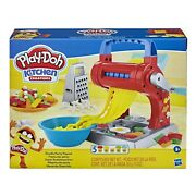 Play-doh Kitchen Creations Noodle Party Playset Includes 5 Cans 2day Delivery