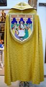 + Beautiful Gold Brocade Cope And Stole - 66 Fb12 Vestment Church Priest Robes