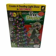 Tree Dazzler Christmas Tree Animated Lights With Remote Control 6-7.5 Ft New