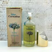 Blue Carnation By Roger And Gallet Spray Cologne 4 Oz Vintage With Box