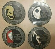 Disney Nbc Nightmare Before Christmas Halloween Le Set Of 4 Pins New Limited