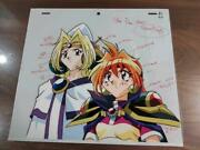 Slayers Try Lina Inverse Philia Cel Limited Rare Retro Anime Character Goods B8