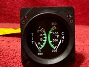 Cessna Dual Tit And Cht Indicator P/n S3318-2 Rochester P/n Eg2950-04006