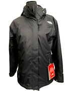 New Snow Triclimate Condor Womens Large 3-in-1 Jacket 280 Black Coat