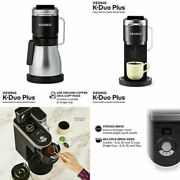 New Keurig K-duo Plus Coffee Maker Single Serve Compatible With K-cup Pods