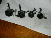 Lot Of 4 Vintage Garcia Mitchell 2ea 306 1ea 320 And Cap Reels All Working
